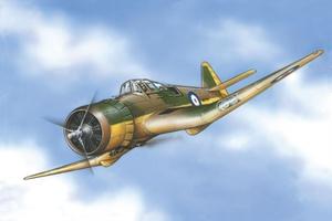М-27 Мастер Мк.III Учебно-тренировочный самолет (М.27 Master Mk III) - 72287 Восточный Экспресс 1:72