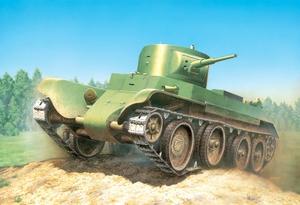БТ-7 образца 1935 (поздний) Легкий танк - ЕЕ35109 Восточный Экспресс 1:35