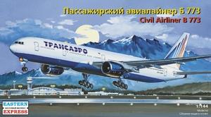 Авиалайнер Б-773 Трансаэро - 14477 Восточный Экспресс 1:144