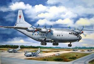Ан-12 Военно-транспортный самолет ВВС - 14476 Восточный Экспресс 1:144