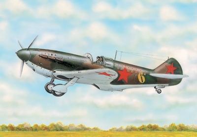 ЛаГГ-3 тип 35 Истребитель - 72212 Восточный Экспресс 1:72