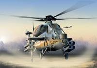 A-129 Mangusta ударный вертолет. 0006 Italeri 1:72