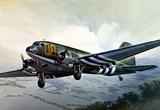 C-47 Dakota Skytrain военно-транспортный самолет. 0127 Italeri 1:72