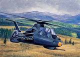 RAH-66 Comanche проект ударного вертолета. 0058 Italeri 1:72