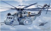 MH-53E Sea Dragon тяжелый военно-транспортный вертолет. 1065 Italeri 1:72