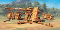 8,8cm Flak 37 зенитное орудие. 6602 Italeri 1:48