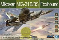МиГ-31Б/БС (Foxhound) перехватчик - K48002 AMK/SIO Model 1:48