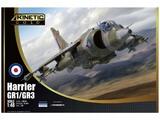 Harrier GR1/GR3 штурмовик ВВП - K48060 Kinetic 1:48