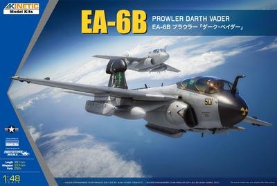 EA-6B Prowler Darth Vader самолет РЭБ - K48075 Kinetic 1:48