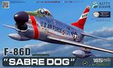 F-86D Sabre Dog истребитель - KH32007 Kitty Hawk 1:32