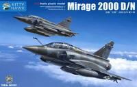 Mirage 2000 D/N истребитель - KH32022 Kitty Hawk 1:32
