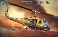 UH-1B Huey вертолет Ирокез - KH5001 Kitty Hawk 1:35