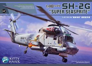 SH-2G Super Seasprite противолодочный вертолет - KH80126 Kitty Hawk 1:48