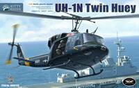 UH-1N Twin Huey вертолет - KH80158 Kitty Hawk 1:48