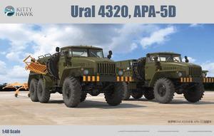 Урал-4322/АПА-5Д (Ural 4320 / APA-5D) - KH80159 Kitty Hawk 1:48