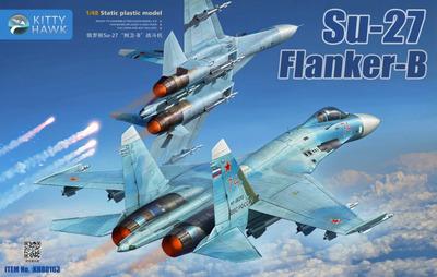 Су-27 (Flanker-B) самолет-истребитель - KH80163 Kitty Hawk 1:48