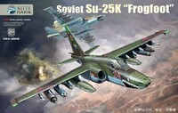Су-25К (Su-25K Frogfoot) штурмовик - KH80166 Kitty Hawk 1:48