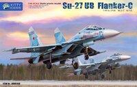 Су-27УБ (Flanker-C) учебно-боевой истребитель - KH80168 Kitty Hawk 1:48