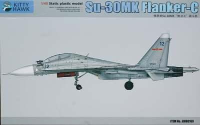 Су-30МК (Flanker-C) ударный самолет - KH80169 Kitty Hawk 1:48