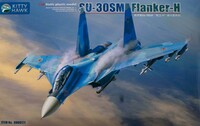 Су-30СМ (Flanker-H) истребитель - KH80171 Kitty Hawk 1:48