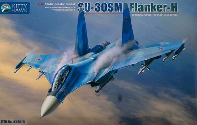 Су-30СМ (Flanker-H) истребитель - KH80171 Kitty Hawk 1:48