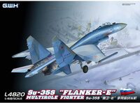 Су-35С (Flanker-E) истребитель - L4820 Great Wall Hobby 1:48