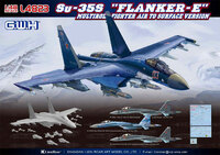 Су-35C (Su-35S Flanker-E) - L4823 Great Wall Hobby 1:48
