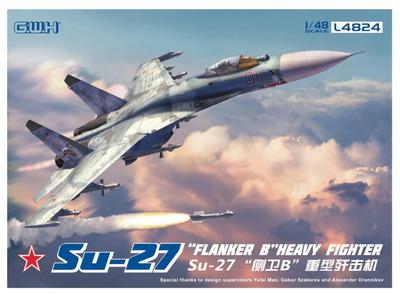Су-27 (Flanker B) истребитель - L4824 GWH 1:48