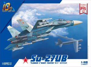 Су-27УБ Flanker-C - L4827 Great Wall Hobby 1:48