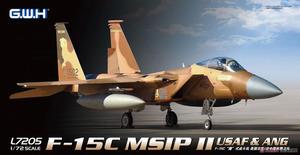 F-15C Eagle MSIP II USAF & ANG - L7205 Great Wall Hobby 1:72