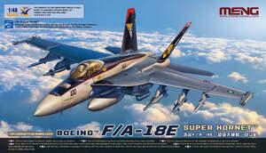 F/A-18E Super Hornet палубный истребитель-бомбардировщик - LS-012 Meng 1:48