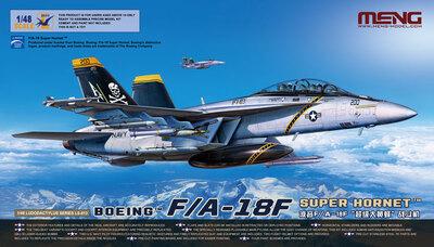 F/A-18F Super Hornet палубный истребитель - LS-013 Meng 1:48