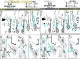 Су-35 Landing gears (Kitty Hawk GWH) - MD4834 Metallic Details 1:48