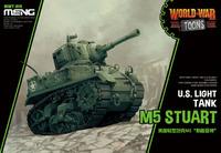 M5 Stuart мультяшный танк - WWT-012 Meng Egg