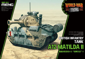 WW Toons A12 Matilda II British Infantry Tank - WWT-014 Meng Egg