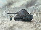 WW Toons King Tiger (Porsche Turret) German Heavy Tank - WWT-003 Meng Egg