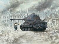 Т-VIВ «Королевский Тигр» тяжелый танк. WWT-003 Meng
