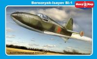 БИ-1 опытный ракетный перехватчик. 48-010 MikroMir 1:48