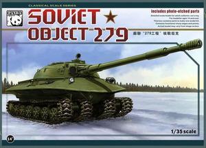 Объект-279 экспериментальный тяжелый танк - PH35005 Panda Hobby 1:35