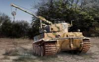 БРЭМ «Тигр-I». RM-5008 Rye Field Model 1:35