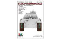 Подвижные траки и катки на Panther Ausf.A/G - RM-5014 RyeField Model 1:35