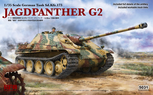 Sd.Kfz.173 Jagdpanther G2 (Ягдпантера) САУ-истребитель танков - RM-5031 RyeField Model 1:35