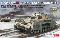 Pz.Kpfw.IV Ausf.J / Pz.Beob.Wg.IV Ausf.J Late средний танк - RM-5033 RyeField Model 1:35
