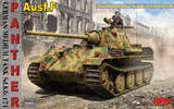 Sd.Kfz.171 Panther Ausf. F (Пантера) средний танк - RM-5045 RyeField Model 1:35