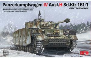 Panzerkampfwagen IV Ausf.H Sd.Kfz.161/1 Early средний танк - RM-5046 RyeField Model 1:35