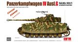 Pz.Kpfw.IV Ausf. G Sd.Kfz. 161/1 средний танк - RM-5053 Rye Field Model 1:35