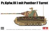 Pz.Kpfw.IV Ausf. J w/Panther F Turret средний танк - RM-5068 Rye Field Model 1:35