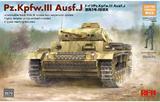 Pz.Kpfw.III Ausf.J средний танк - RM-5070 RyeField Model 1:35