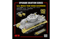 US M4A3 76W HVSS Sherman (Шерман) Upgrade - RM-2002 RyeField Model 1:35