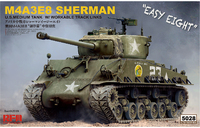 M4A3E8 Sherman Easy Eight (М4А3Е8 Шерман) - RM-5028 RyeField Model 1:35